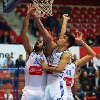 04.11.2015., Zagreb - 2. kolo kosarkaskog FIBA Europa Kupa, KK Cibona - KK Antverp Giants. Marko Jagodic Kuridza, Nik Slavica. Photo: Jurica Galoic/PIXSELL