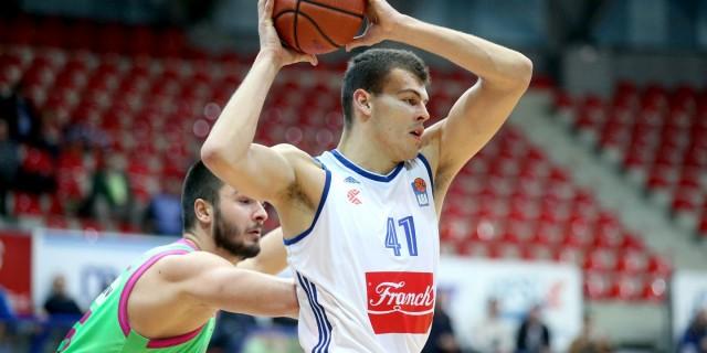 07.02.2016., KC Drazen Petrovic, Zagreb - 23. kolo ABA lige, KK Cibona - KK Mega Leks.  Ante Zizic. Photo: Igor Kralj/PIXSELL