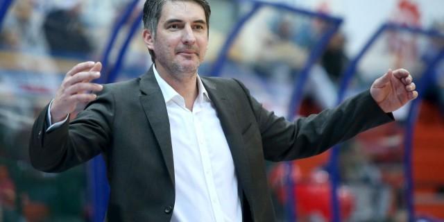 07.02.2016., KC Drazen Petrovic, Zagreb - 23. kolo ABA lige, KK Cibona - KK Mega Leks. Trener KK Cibone Damir Mulaomerovic. Photo: Igor Kralj/PIXSELL