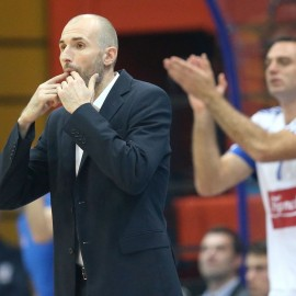 11.11.2015., Zgareb, KC Drazen Petrovic - 3. kolo kosarkaskog FIBA Europa Kupa, KK Cibona - KC Sopron. Slaven Rimac. Photo: Igor Kralj/PIXSELL