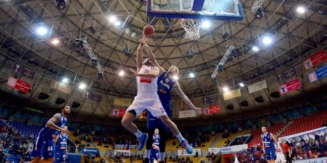 31.01.2016., KC Drazen Petrovic, Zagreb - ABA liga, 22. kolo, KK Cibona - KK Sutjeska. Andrija Zizic. Photo: Marko Prpic/PIXSELL