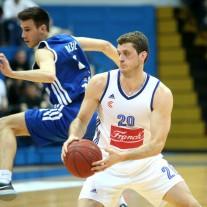 04.04.2016., KC Drazen Petrovic, Zagreb - A-1 muska Liga za prvaka, 1. kolo, KK Cibona - KK Zadar. Marin Rozic. Photo: Igor Kralj/PIXSELL